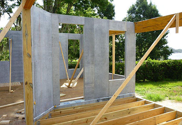 Protec c sip concrete structural insulated panels t clear for Structural insulated panels texas