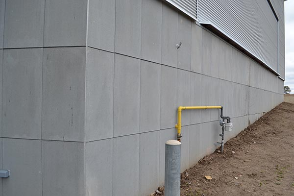 Wallguard concrete faced insulated perimeter wall for Concrete foam walls