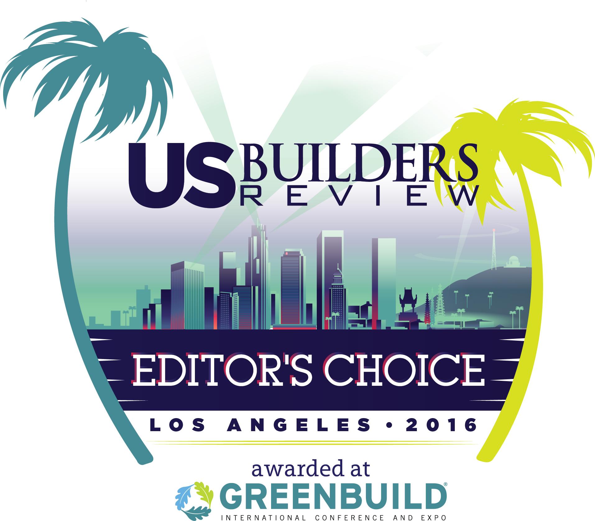 Greenbuild Editor's Choice 2016